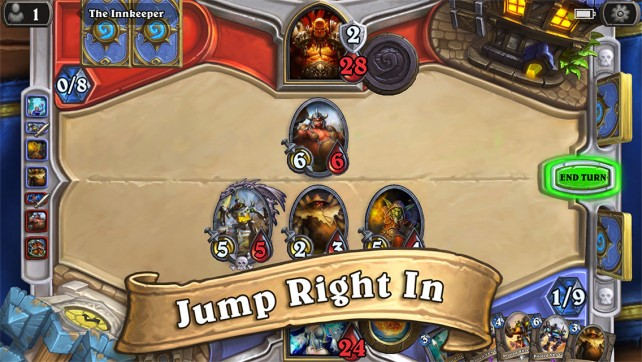 Carry your best cards with you for a duel anytime with Hearthstone for iPhone.