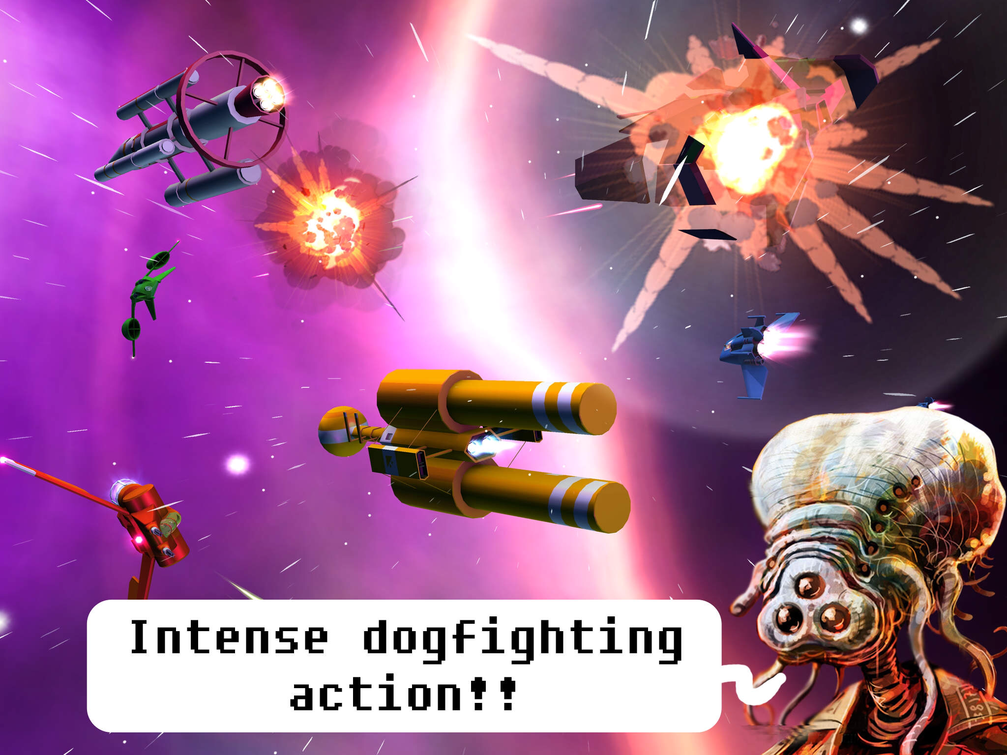 Rogue Star is an intense, close-up space brawler that's just launched on iOS