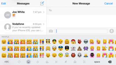 Apple's iOS 8.3 brings new, more diverse emoji to our iOS devices