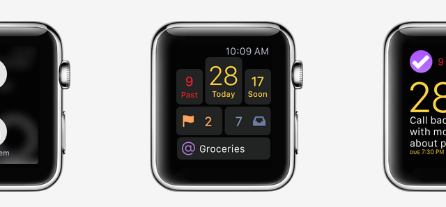 Get things done on the go and on your wrist with OmniFocus for Apple Watch