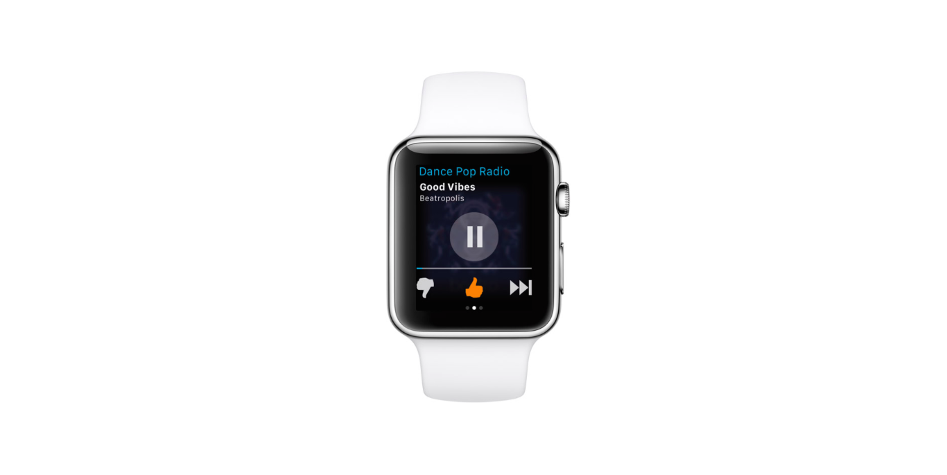 Pandora Radio for iOS updated with support for Apple Watch