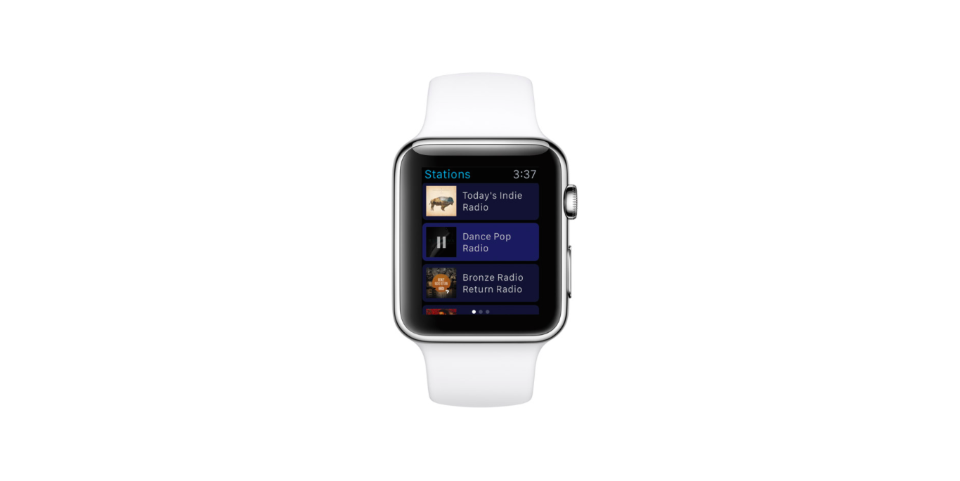 Pandora for Apple Watch