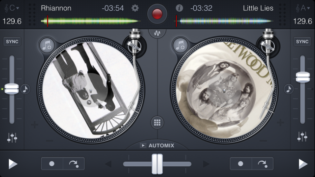 Continuing a Djay 2 project on iOS.
