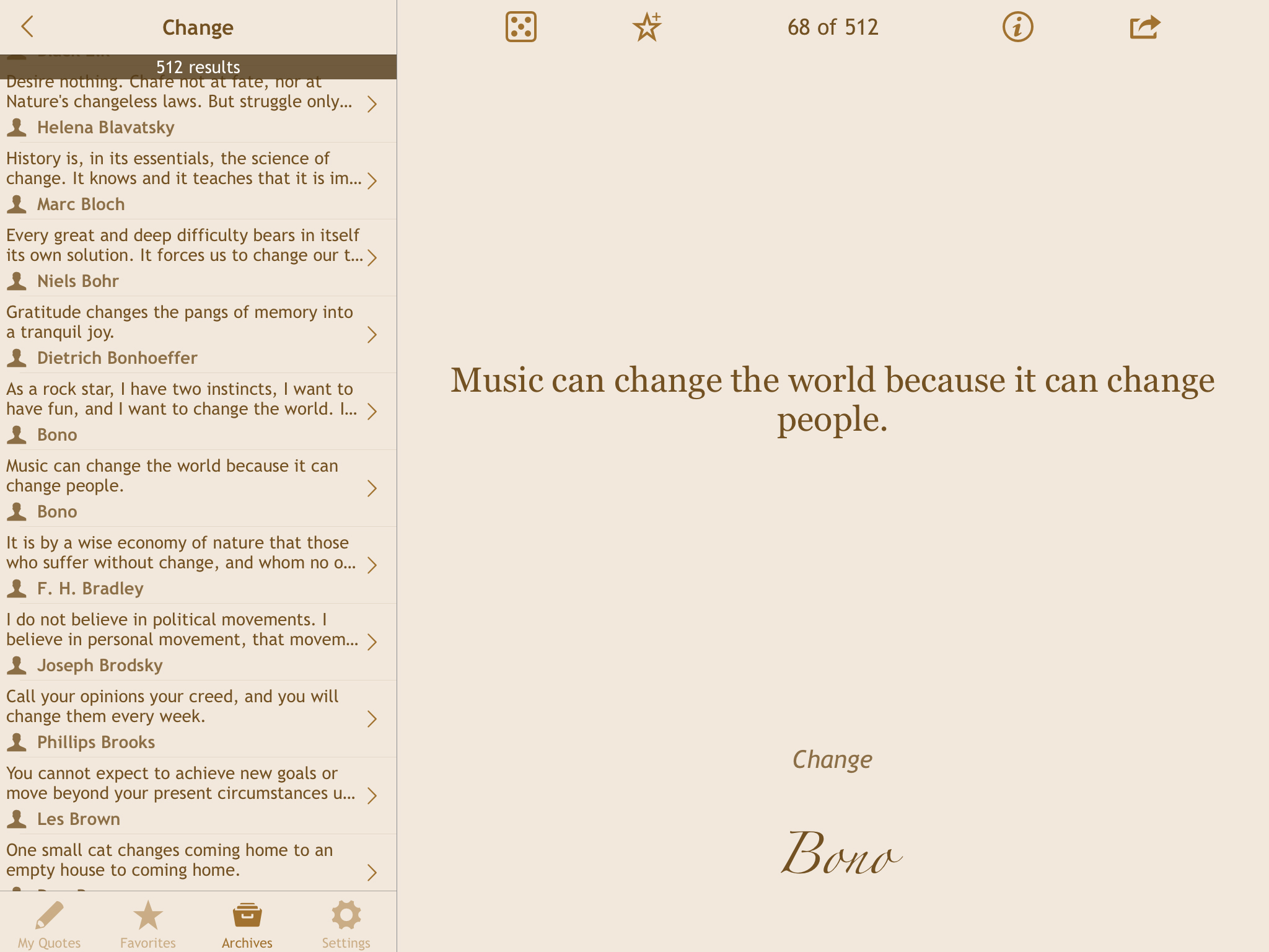 Explore and share quotations you love with Quotes Folder