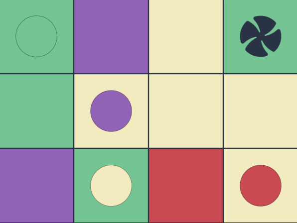New color domino game Reac makes you think and plan
