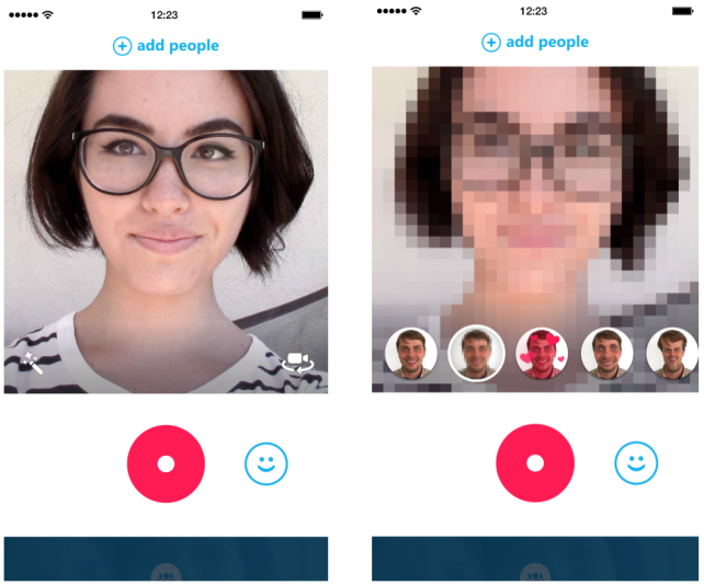 Microsoft's updated Skype Qik is available now, while the updated Skype app is incoming.