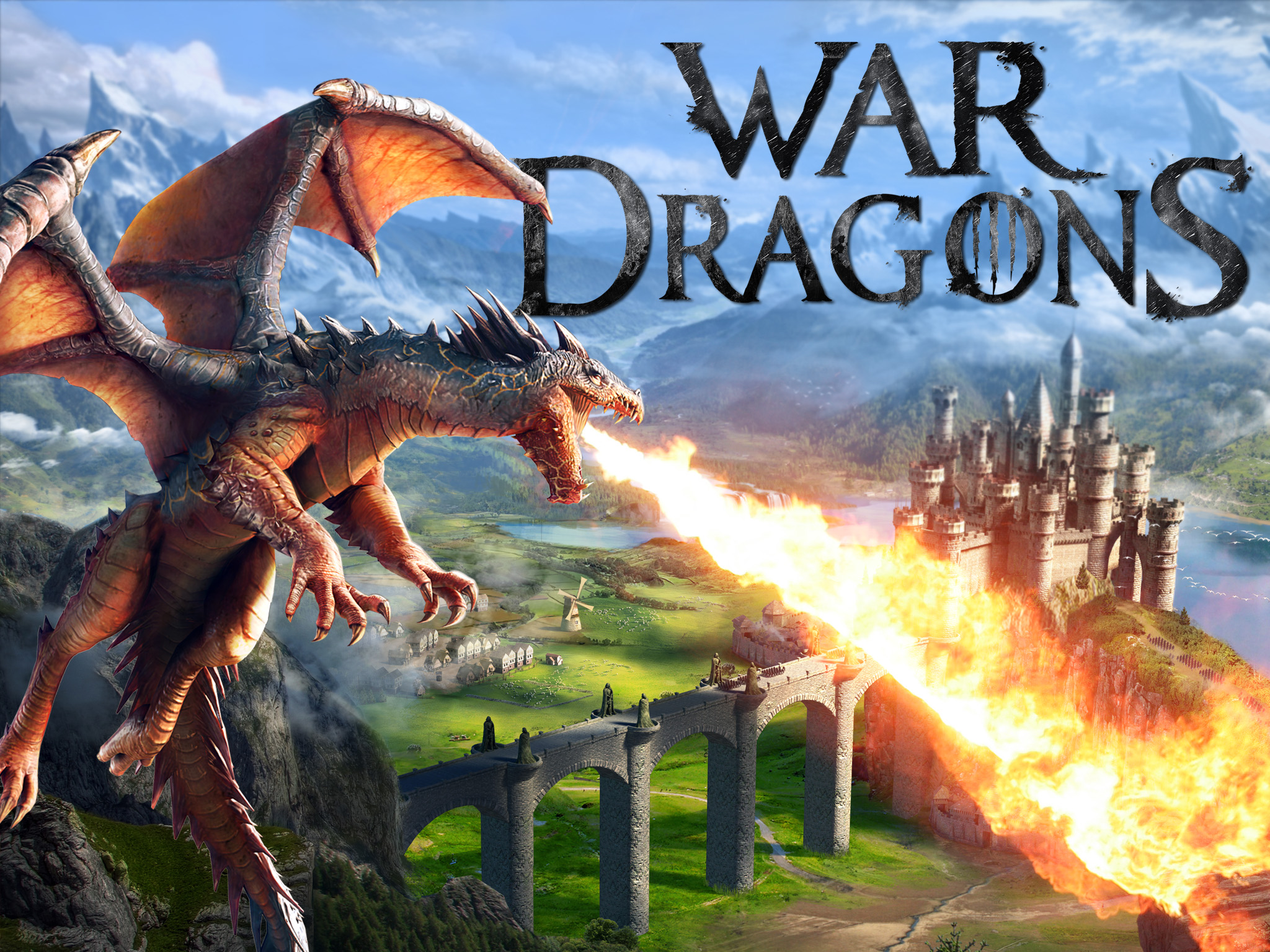 War Dragons 3-D real-time strategy game launches
