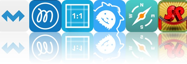 Today's apps gone free: MolaSync, Fluent Mind Map, Square Video and more