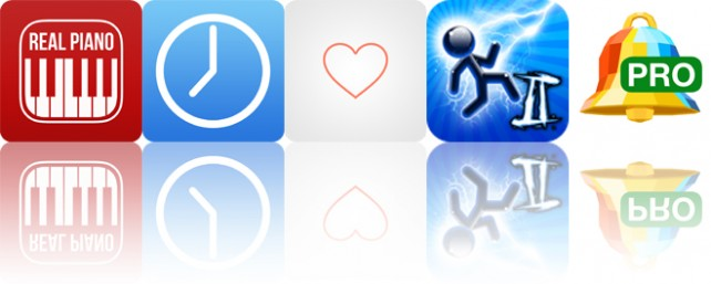 Today's apps gone free: Real Piano, Hours, Hearts and more