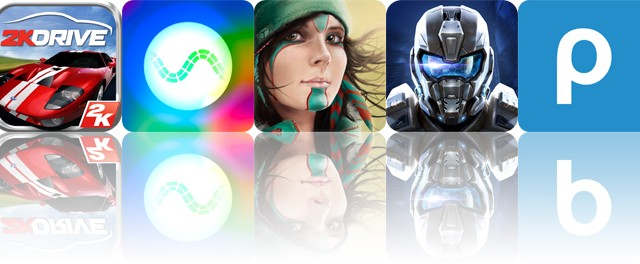 Today's apps gone free: 2K Drive, Synesthetic, Windy and more