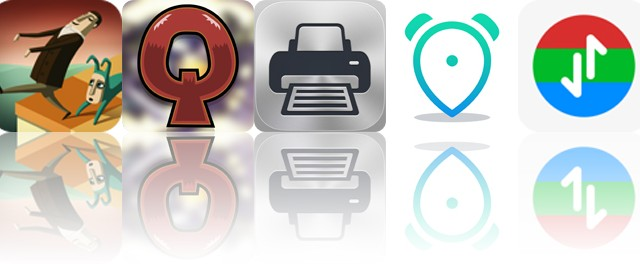 Today's apps gone free: Back to Bed, Quarriors, Printer Pro and more