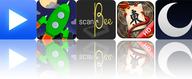 Today's apps gone free: LeechTunes, Rocket Valet, ScanBee and more