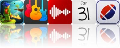 Today's apps gone free: Swordigo, Guitar Elite, Carmen and more