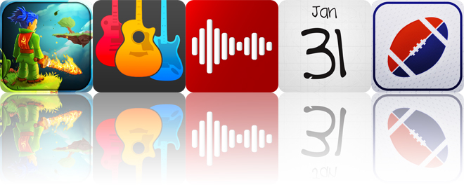 Today's apps gone free: Swordigo, Guitar Elite, Carmen and more