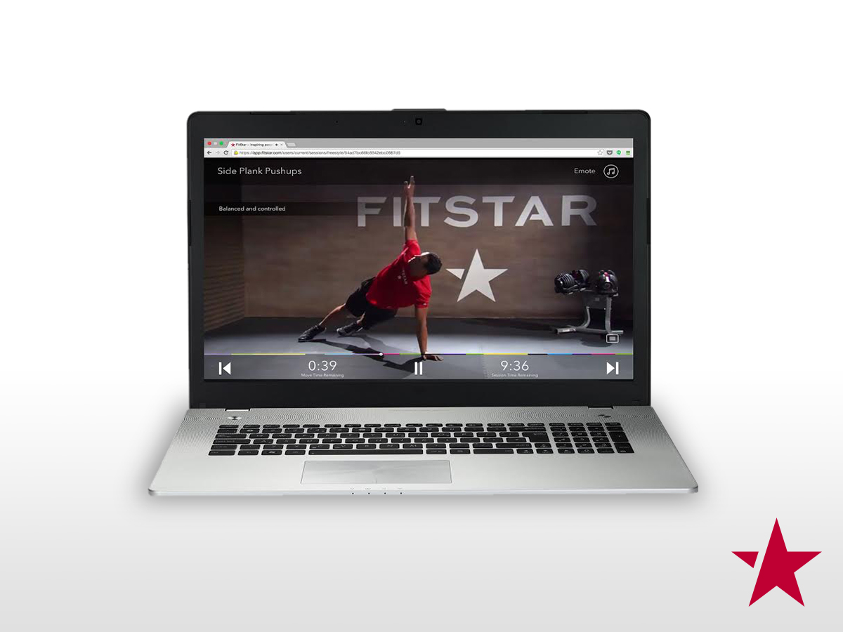 FitStar brings its personalized video workout program to the Web
