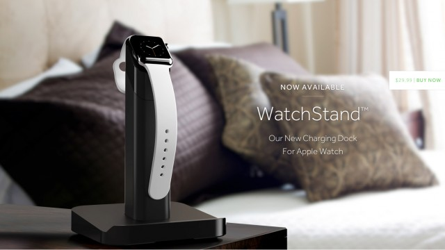 Griffin's WatchStand, which can hold an Apple Watch and iPhone, is available to order now