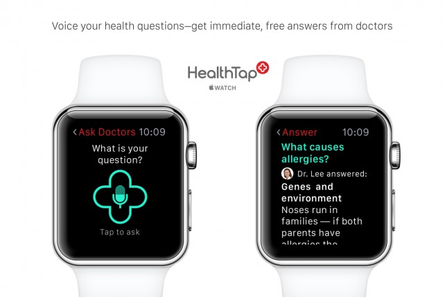 Health care apps will remind Apple Watch users to take their medication, initiate live doctor visits and more