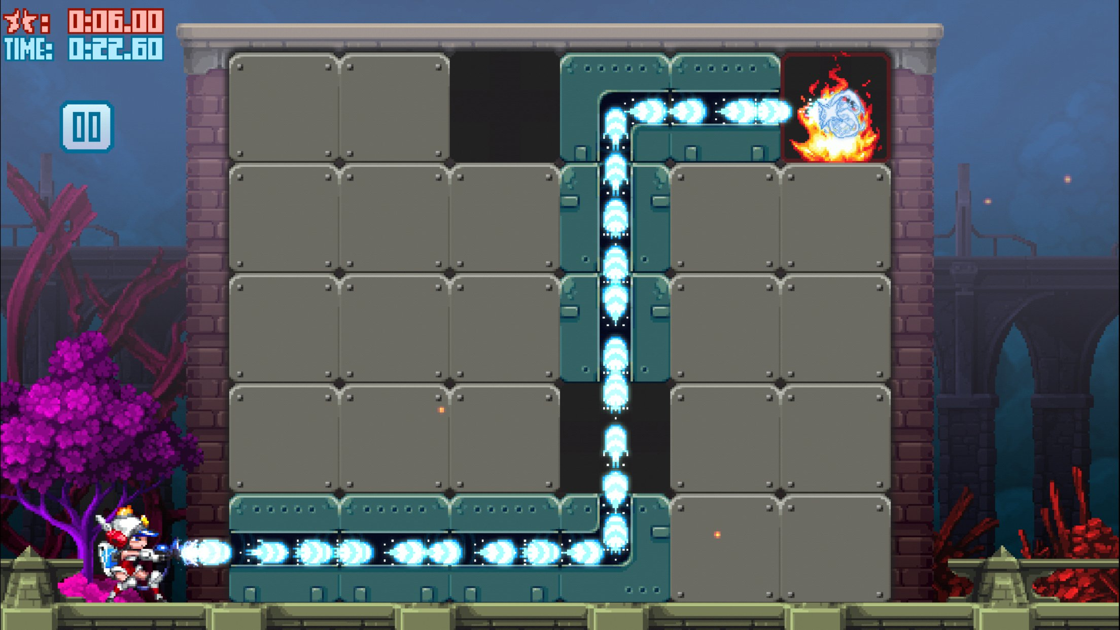 Apple selects hot puzzler Mighty Switch Force Hose It Down as its free App of the Week