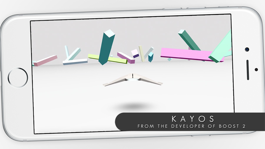 The upcoming game Kayos is the latest from Boost 2 developer Jonathan Lanis