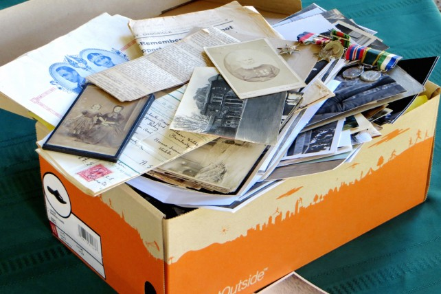 Create your own digital shoebox of memories with lifetile