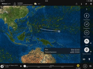 meteoearth-ipad