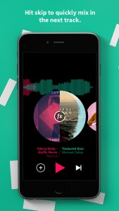 Get the perfect mix with Pacemaker, your new pocket DJ
