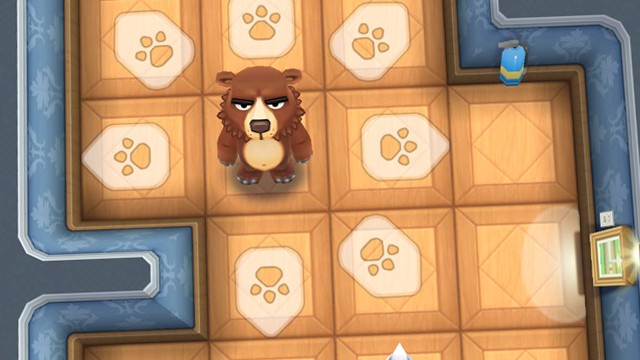 Unleash some fury on modern art in Bears vs. Art, the new puzzle game from Halfbrick