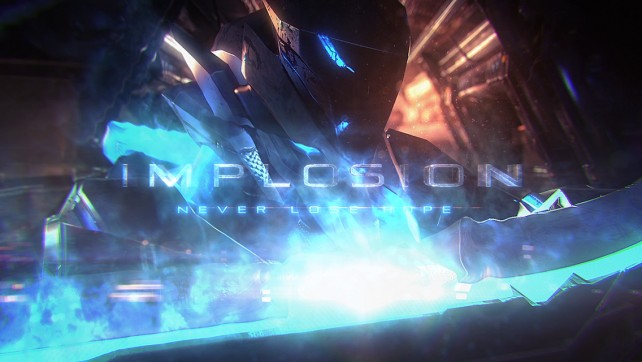 You are mankind's last hope in Implosion, a challenging sci-fi action game with mechas
