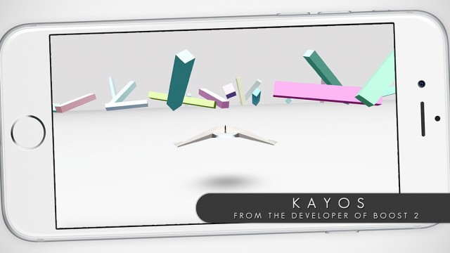 You need skills to survive in Kayos, a minimally futuristic infinite runner