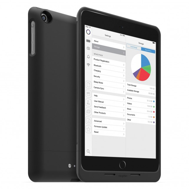 Mophie expands its Space Pack lineup with new options for the iPhone 6, iPhone 6 Plus and iPad mini