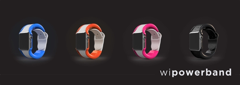 Juice up your Apple Watch with the wiPowerBand