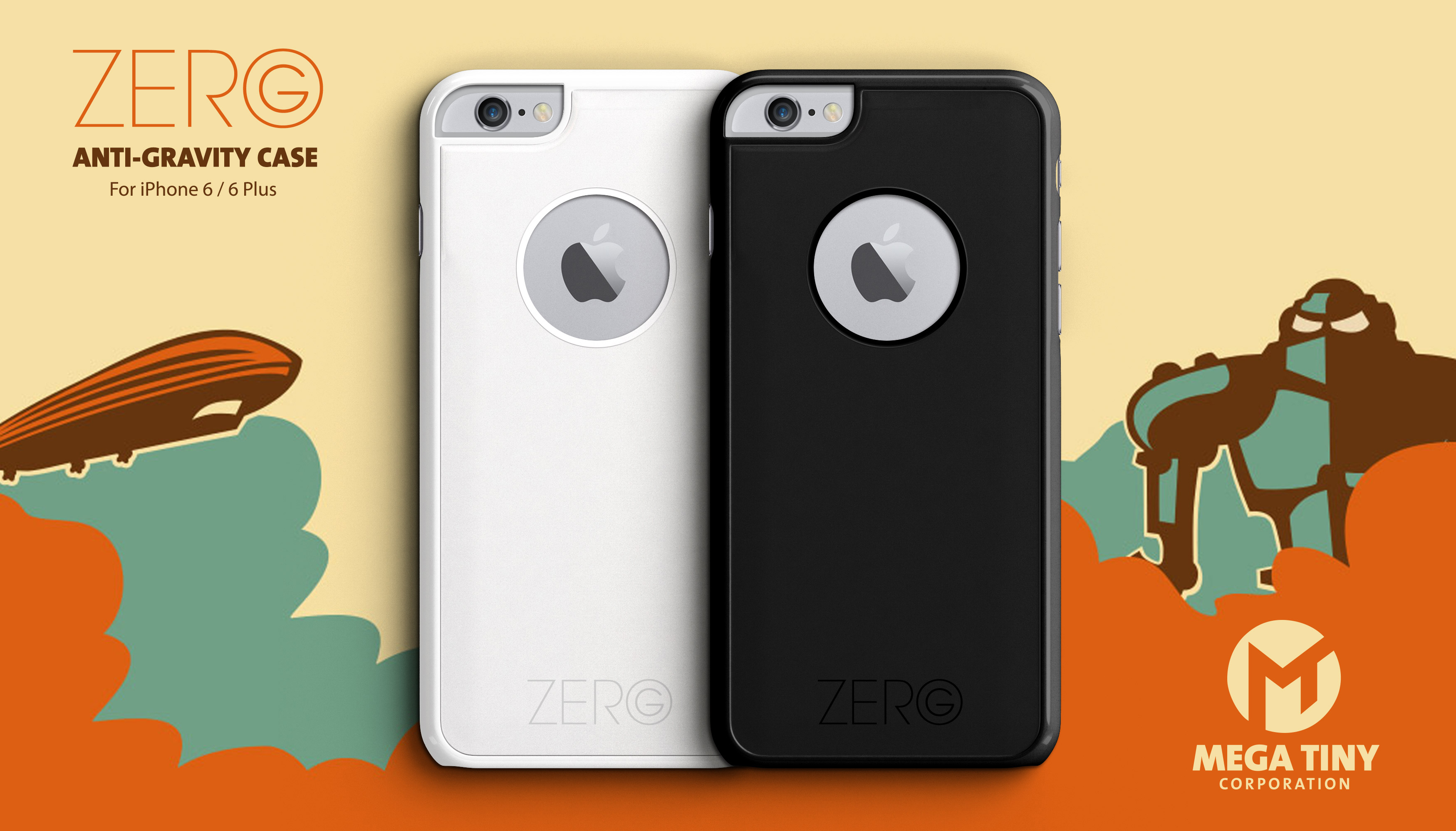 Stick your iPhone almost anywhere with the new Zero G Anti-Gravity Case