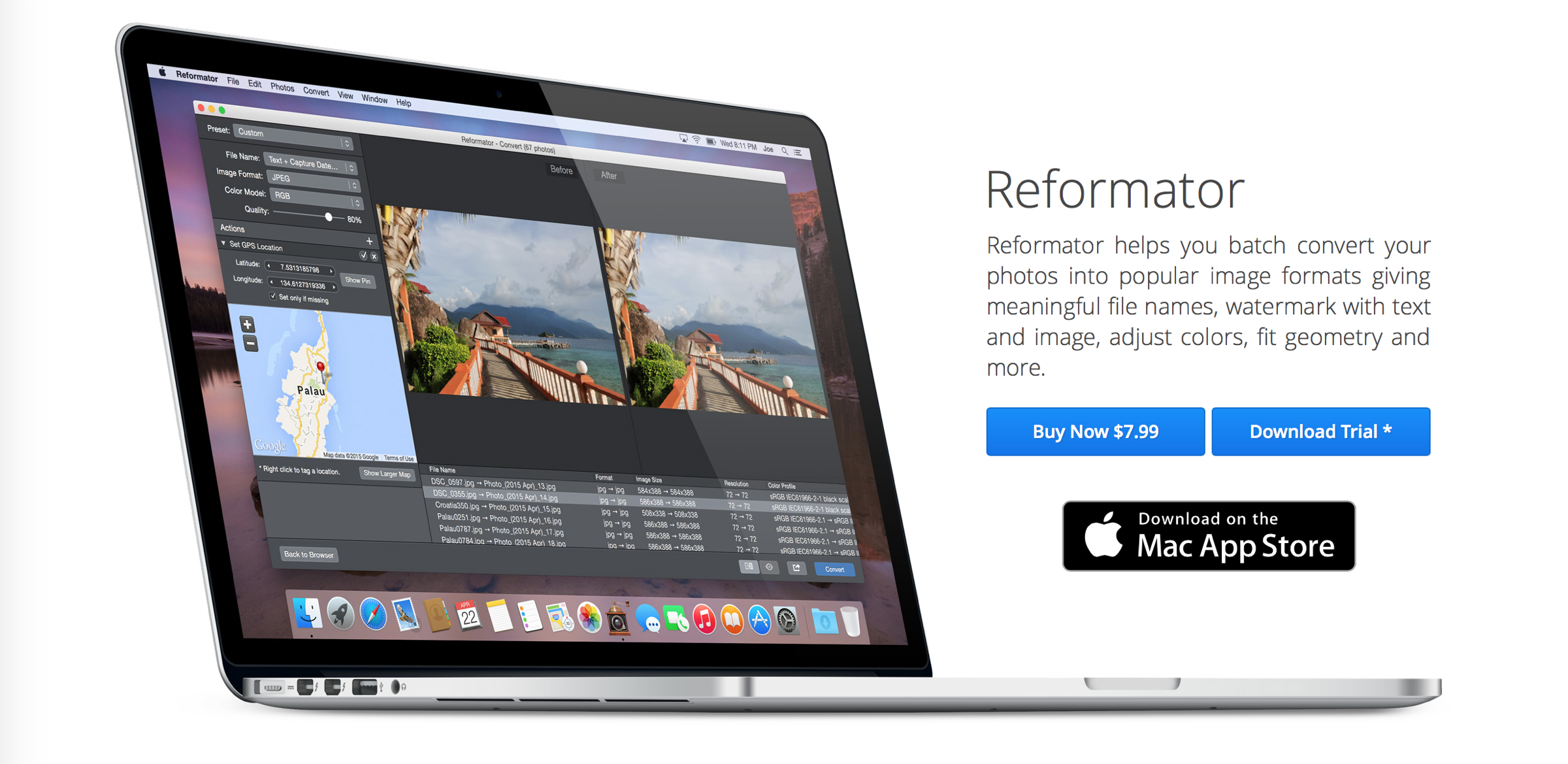 Reformator gets a nice update, makes it easier than ever to edit iPhone-captured photos