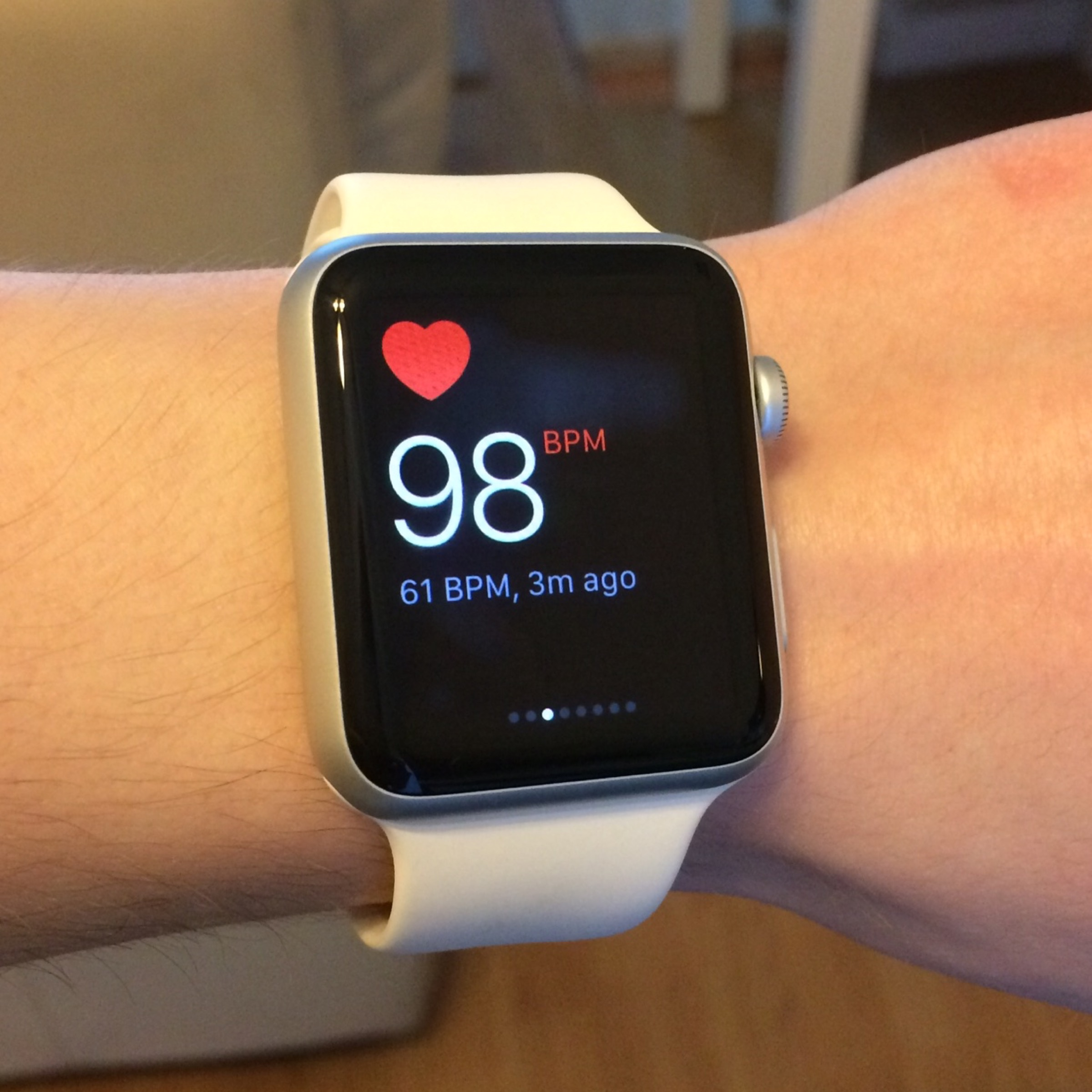 Could current Apple Watches also measure blood oxygen saturation?