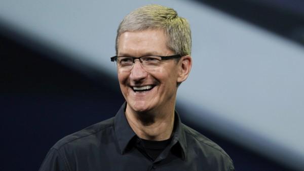 Tim Cook donates 50,000 Apple shares, worth around $6.5 million, to charity