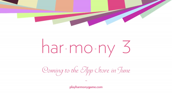 Beautiful music puzzler Har•mo•ny 3 is launching on the App Store this June
