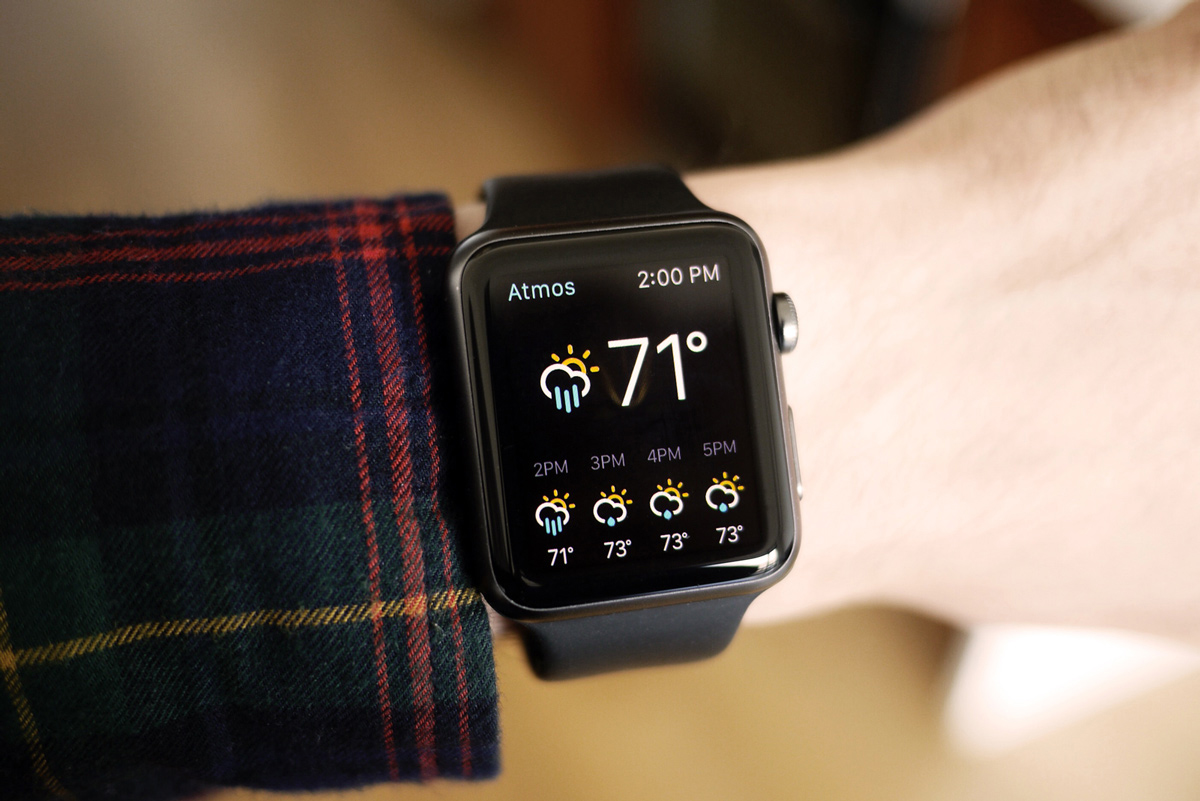 How can Apple Watch help with self-regulated learning?