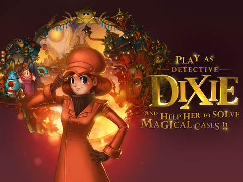 Decipher the puzzles to solve the crime in Detective Dixie: The Revenge of Wishteria