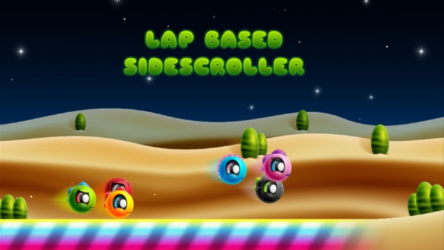 The side scrolling racer Drace received an update offering a new ranking system