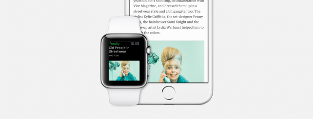 You can now access the best stories from your Feedly right on your Apple Watch