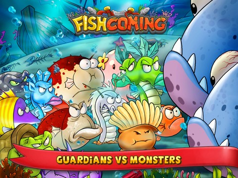 Fish Coming is a fun game of strategy and combat where you defend your pond