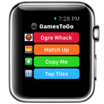 Whack an ogre, make matches and more with GamesToGo on your Apple Watch