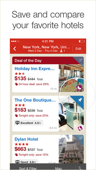 Hotels.com Compare