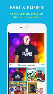 Create and share hilarious photo mashups with KitCut