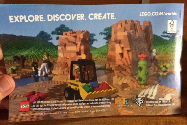 Lego Worlds Possible