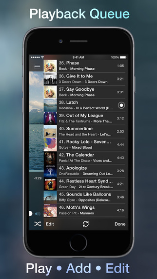 Marvis Music Player Queue