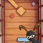 Try to hit the target with your Ninja Star in this fun new puzzler