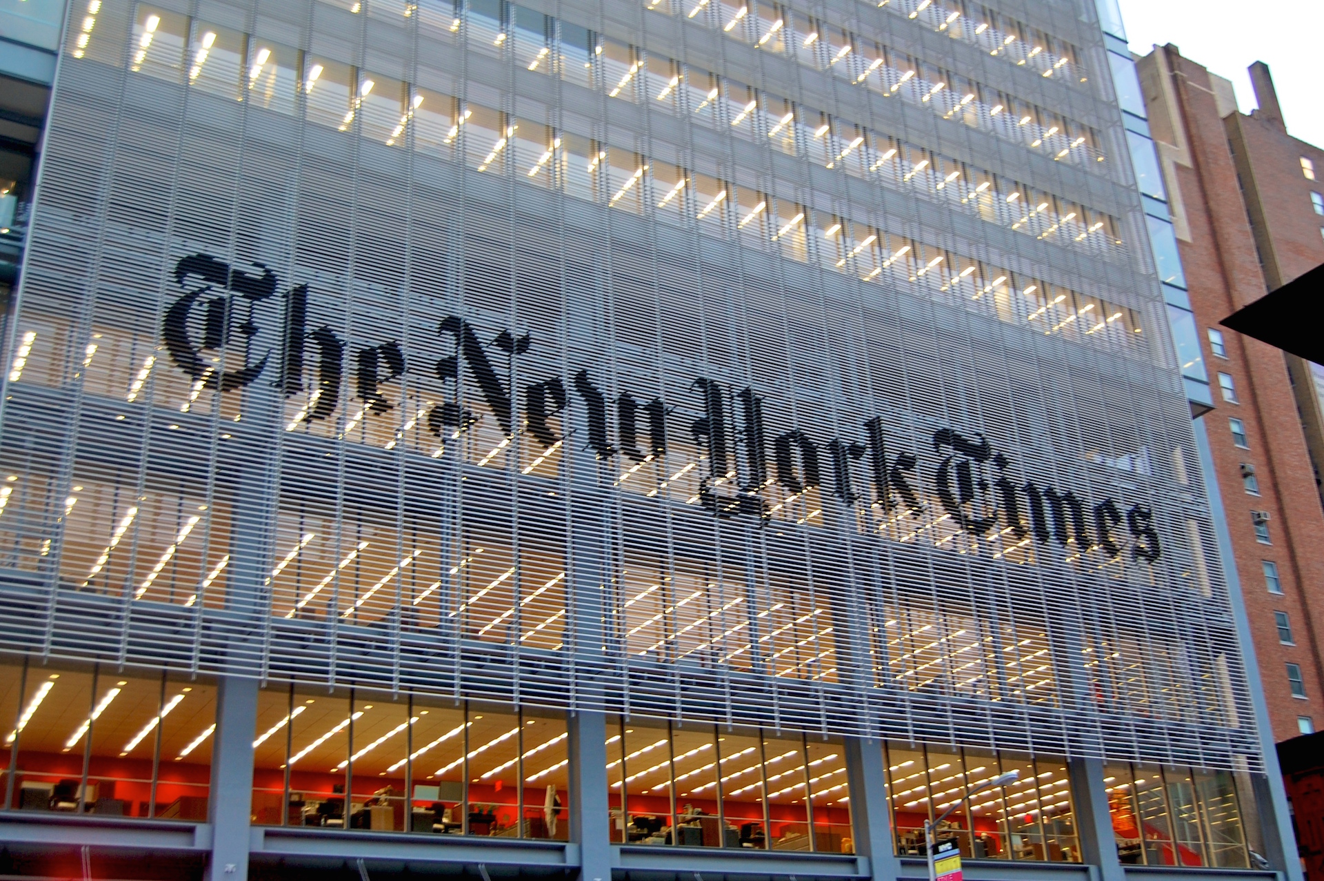 Get your news briefing for free with NYT Now
