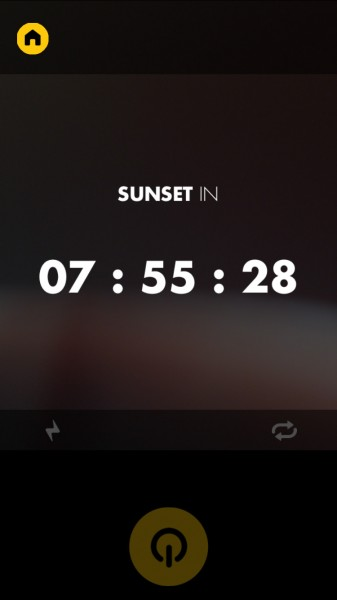 On – Only Night automatically turns on your camera from dusk till dawn
