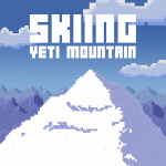 Strap on your skis and hit the slopes in Skiing Yeti Mountain